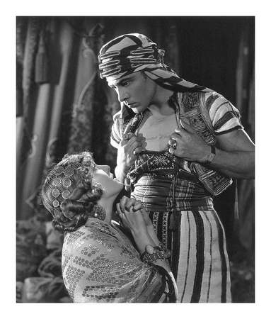 Rudolph Valentino 'The Son of the Sheik' with Vilma Banky Prints by  Hollywood Historic Photos