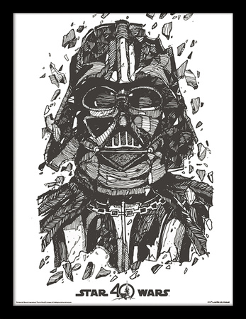 Star Wars 40th Anniversary - Darth Vader Collector-tryk