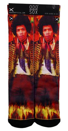 Jimi Hendrix - Guitar God Socks Socks