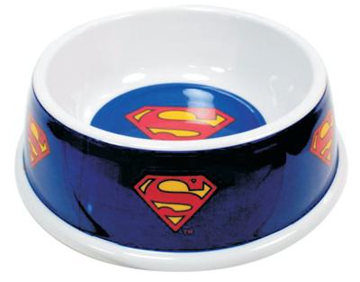 Superman - Single Melamine Pet Bowl Novelty