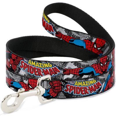 The Amazing Spiderman - Stacked Comic Books Dog Leash Novelty