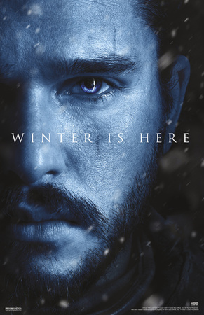 Game Of Thrones - S7-Jon Snow Posters