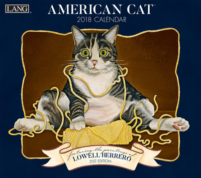 American Cat™ - 2018 Calendar Calendari