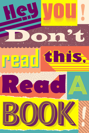 Read A Book Posters
