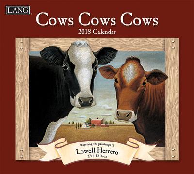 Cows Cows Cows - 2018 Calendar Calendari