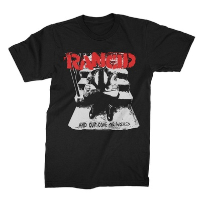 Rancid -  And Out Come The Wolves Shirt