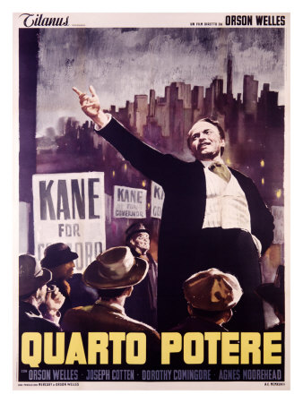 Citizen Kane (Italian Release) Giclee Print
