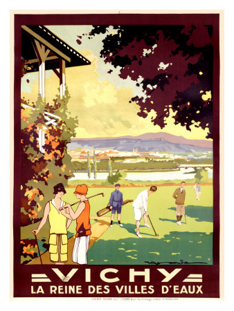 Vichy Giclee Print by Roger Soubie