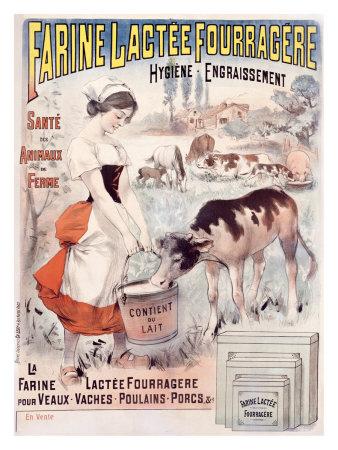 Farine Lactee Fourragere Giclee Print