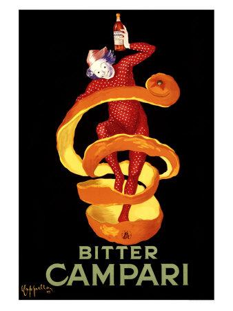 Reklame for Bitter Campari, ca.1921 Giclée-tryk af Leonetto Cappiello
