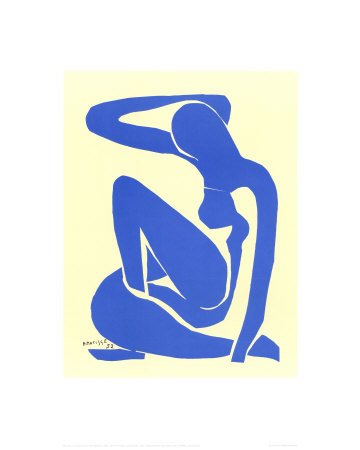 Blue Nude I, c.1952 Reproduction d'art