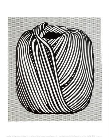 Ball of Twine, 1963 Art by Roy Lichtenstein
