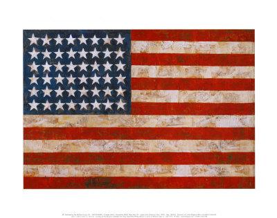 Flag, 1954-55 Prints by Jasper Johns