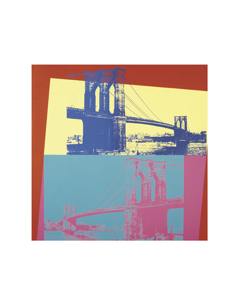 Brooklyn Bridge, 1983 Posters by Andy Warhol