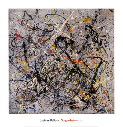 Number 18, 1950 Poster by Jackson Pollock