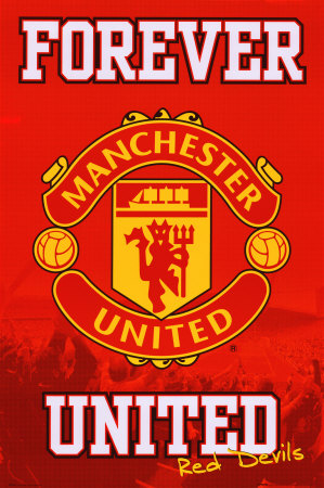 Manchester UTD pour toujours Affiche