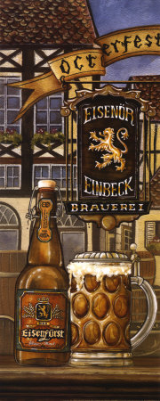 German Beer Art Print