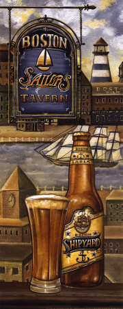 American Beer Art Print