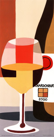 Chardonnay Print by David Marrocco