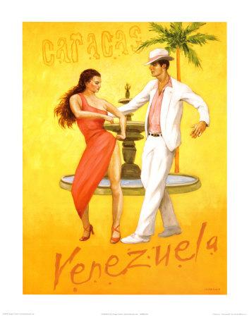 Caracus-Venezuela Prints by David Marrocco