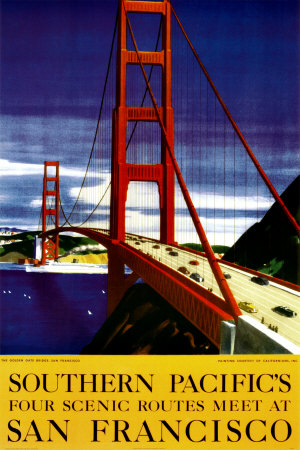 San Francisco - Pittoresque Affiche