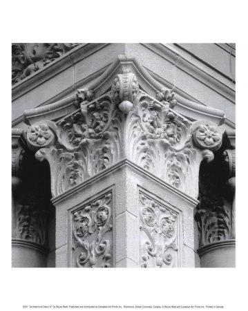 Architectural Detail IV Poster by Boyce Watt
