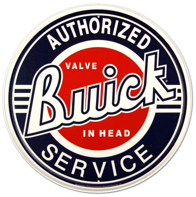 Buick Service Pltskylt