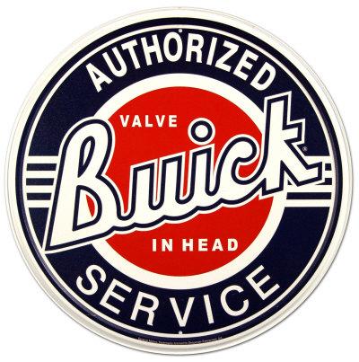 Buick Service Plåtskylt