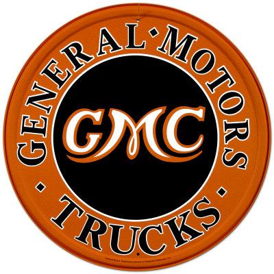 GMC Trucks Tin Sign