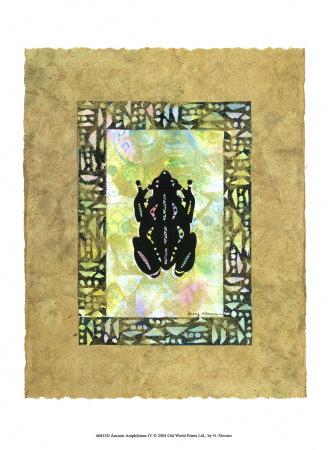 Ancient Amphibians IV Posters by Nancy Slocum
