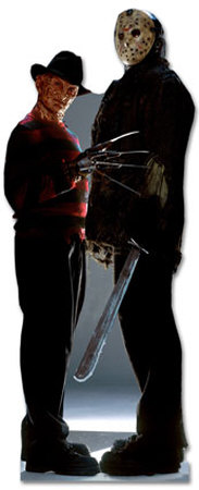 Freddy Krueger & Jason Voorhees - Freddy vs. Jason Movie Lifesize Standup Poster Stand Up