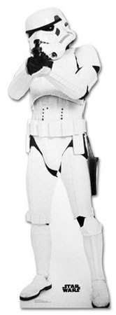 Stormtrooper Star Wars Movie Lifesize Standup Poster Stand Up