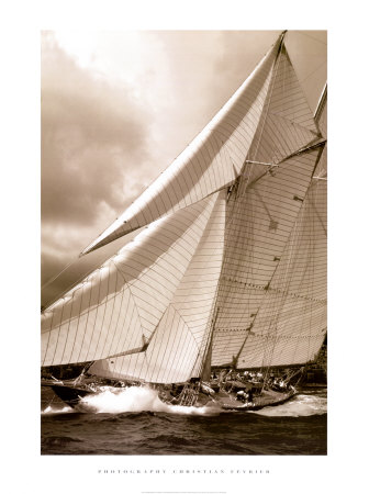 Schooner Mariette Art Print
