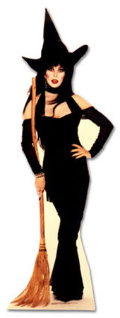Elvira, Mistress of the Dark Lifesize Standup Cardboard Cutouts
