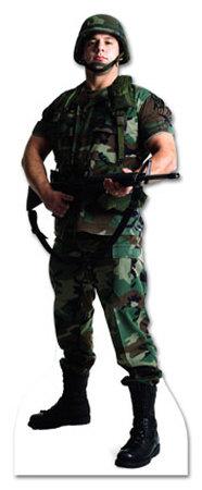 Army Soldier Lifesize Standup Cardboard Cutouts