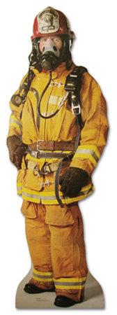 Firefighter Lifesize Standup Cardboard Cutouts