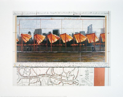 The Gates X Poster by  Christo