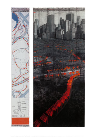 The Gates XXIX Plakater af  Christo