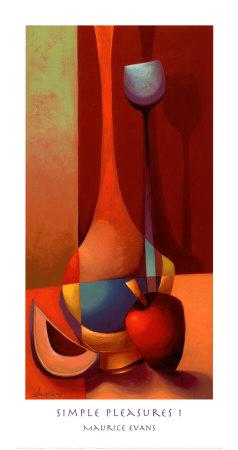 Simple Pleasures I Prints by Maurice Evans