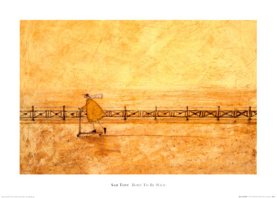 Born to Be Wild Posters by Sam Toft