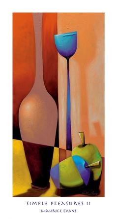 Simple Pleasures II Poster by Maurice Evans