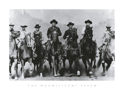 The Magnificent Seven Posters by  The Chelsea Collection