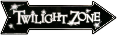 Twilight Zone Tin Sign