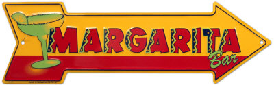 Margarita Bar Tin Sign