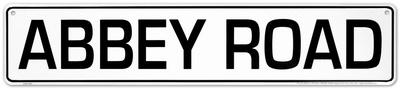 Abbey Road Blechschild