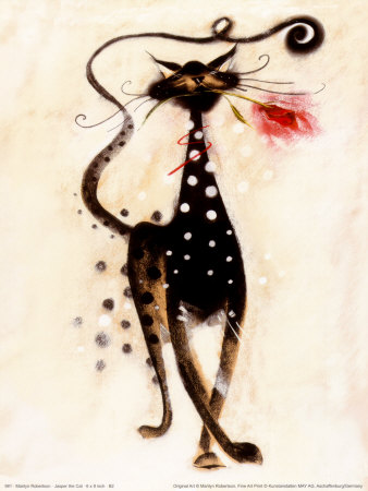 Jasper the Cat decorative cat wall art