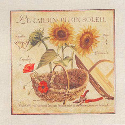 Le Jardin Plein Soleil Prints by Pascal Cessou