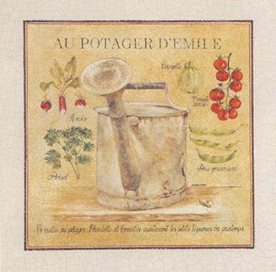 Au Potager d'Emile Posters by Pascal Cessou