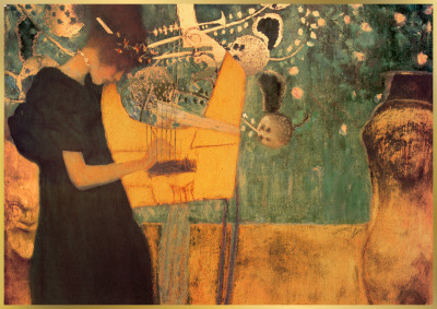 The Music Posters by Gustav Klimt