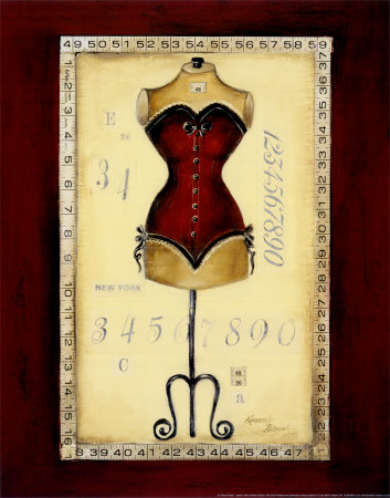 Tailored Corset I Prints by Kimberly Poloson